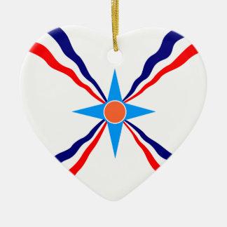 Assyrian People, Democratic Republic of the Congo Ceramic Ornament