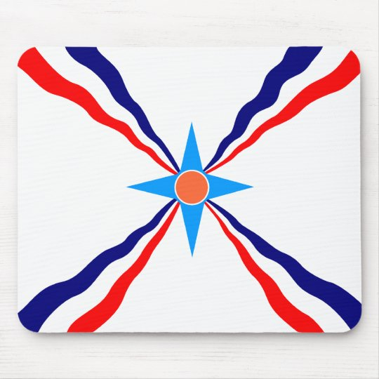 Assyrian People, Democratic Republic of the Congo Mouse Pad
