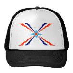 assyrian people ethnic flag trucker hat