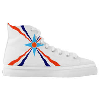 Assyrian people flag ethnic symbol High-Top sneakers