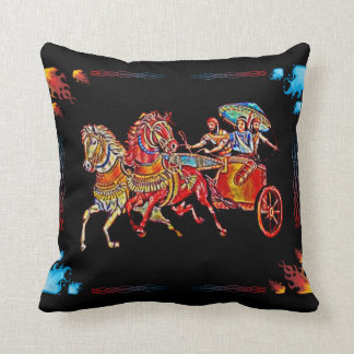 Assyrian Queen Shamiram Pillow