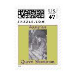 Assyrian Queen Shamiram Postage Stamp