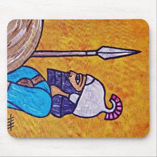 Assyrian Spearman Mouse Pad