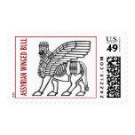 ASSYRIAN WINGED BULL STAMP