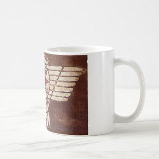 Assyrian Winged Disc Coffee Mugs