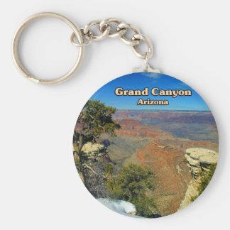 Asta de bandera Arizona del Gran Cañón Llavero Redondo Tipo Pin