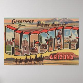 Asta de bandera, Arizona - escenas grandes de la l Impresiones
