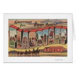 Asta de bandera, Arizona - escenas grandes de la l Tarjetas