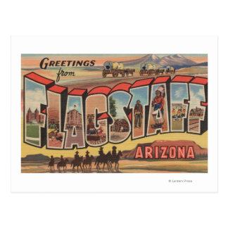 Asta de bandera, Arizona - escenas grandes de la Postales