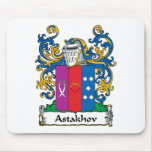 Astakhov Family Crest Mouse Pad