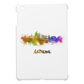 Astana skyline in watercolor case for the iPad mini