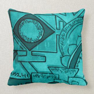 Astar Turquoise Pillow