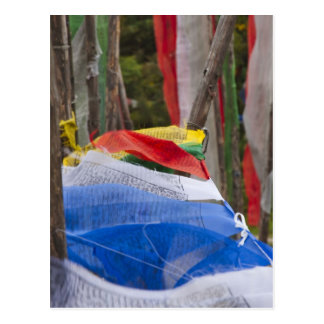 Astas de bandera de rogación en la montaña, paso 3 postal