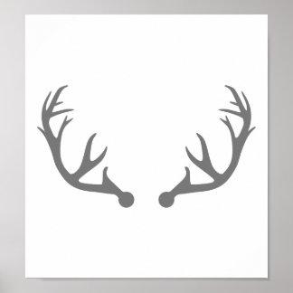 Astas de los ciervos posters