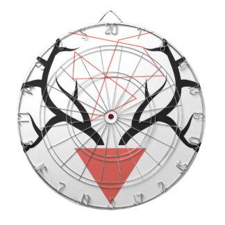 Astas geométricas minimalistas de los ciervos