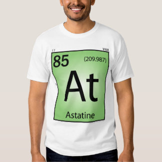 Astatine (At) Element T-Shirt - Front Only