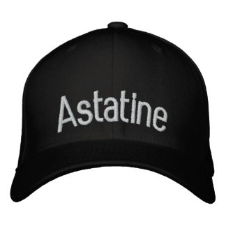 Astatine Embroidered Baseball Caps