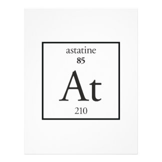 Astatine Personalized Flyer