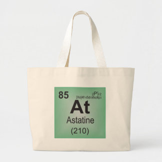 Astatine Individual Element of the Periodic Table Large Tote Bag