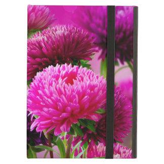 Aster Autumn Flowers Art Design iPad Air Case