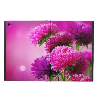 Aster Autumn Flowers Art Design iPad Air Cases
