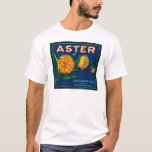 Aster Brand Citrus Crate Label T-Shirt