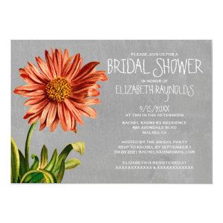 Aster Bridal Shower Invitations