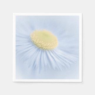 Aster de la flor servilleta desechable