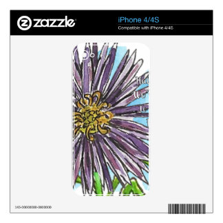 Aster Decals For The iPhone 4