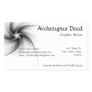 Aster Fractal Business Card