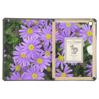 Aster Purple Yellow Green Cover For iPad Air