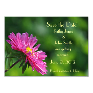 Aster Save the Date Card