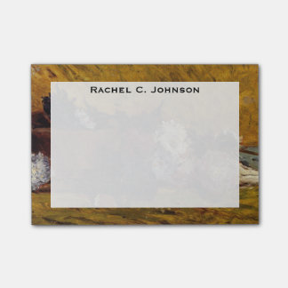 """Asteres, gorra y libro de Gauguin """"China """" del Notas Post-it®"""
