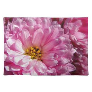 Asteres rosados mantel individual