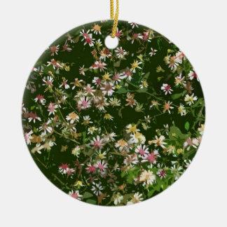 Asteres salvajes ornamento para arbol de navidad