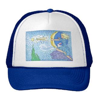 Asteria shoots a star trucker hat