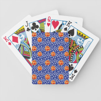 asteriods bicycle playing cards