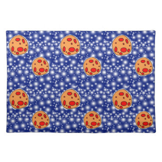 asteriods cloth placemat