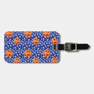 asteriods luggage tag