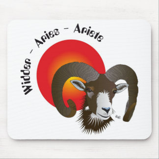 Asterisk Aries mouse PAD