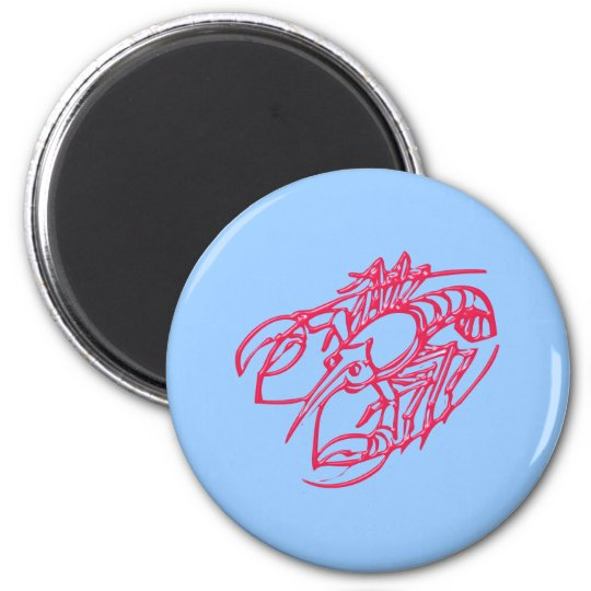 Asterisk cancer zodiac sign CAN cerium Magnet