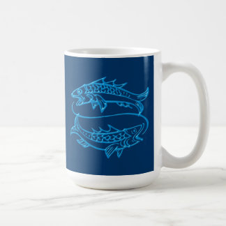 Asterisk of fish zodiac sign Pisces Mugs