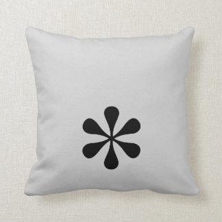 Asterisk Throw Pillow