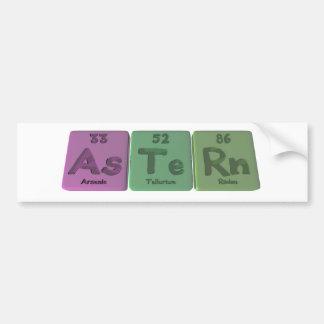 Astern-As-Te-Rn-Arsenic-Tellurium-Radon Bumper Sticker