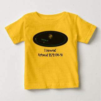 Asteroid 2012 DA-14 - Near miss, I survived! Baby T-Shirt