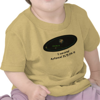 Asteroid 2012 DA-14 - Near miss, I survived! T-shirt