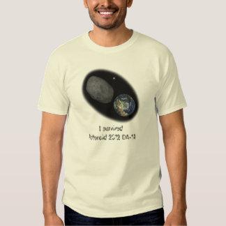 Asteroid 2012 DA-14 - Near miss, I'm a SURVIVOR! Shirt