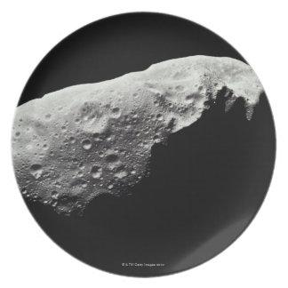 Asteroid 243 Ida Dinner Plate