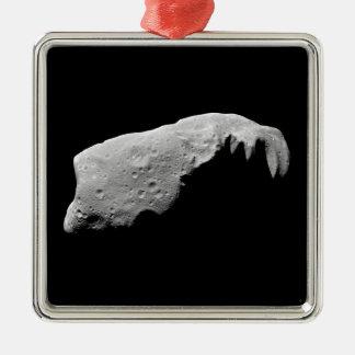 Asteroid 243 Ida Metal Ornament