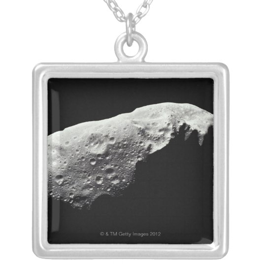 Asteroid 243 Ida Silver Plated Necklace